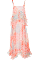 Jill Stuart Reya Silk Organza Shift Dress