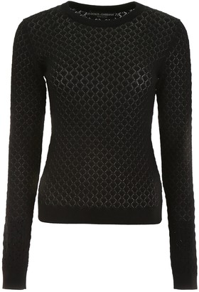 Dolce & Gabbana Perforated Knit Pull