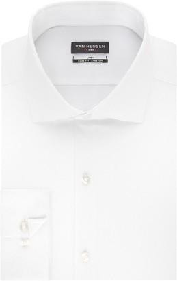 Van Heusen Men's Slim-Fit Spread-Collar Flex Lite Plus Dress Shirt