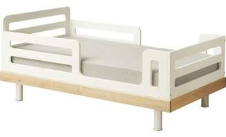 Oeuf Classic Convertible Toddler Bed Color: Natural Birch