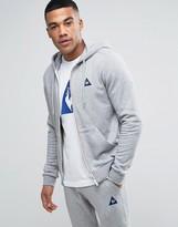 Le Coq Sportif Zip-up Hoodie In Grey 1710371