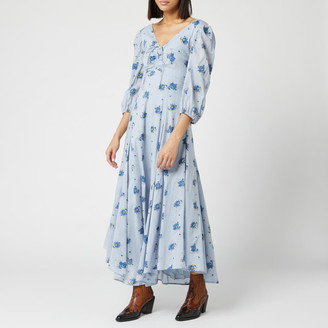 Free People Women's Sea Glass Midi Dress
