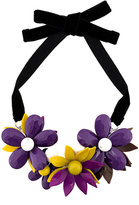 P.A.R.O.S.H. flower plate necklace