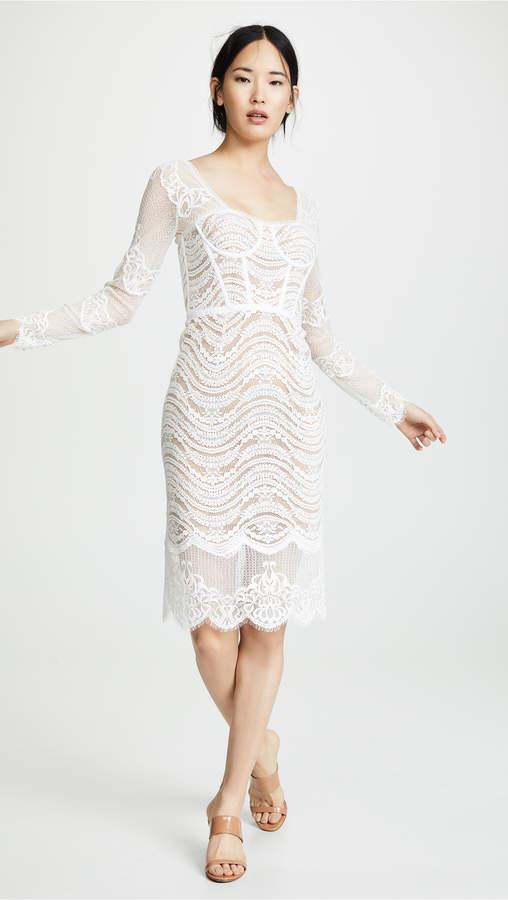 Jonathan Simkhai Bustier Dress