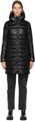 Canada Goose Black Down Black Label Packable Cypress Coat
