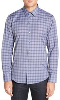 Zachary Prell 'Andy' Trim Fit Plaid Sport Shirt