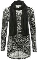 M&Co Animal tunic top with scarf