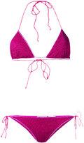 Oseree - Lumiere bikini set - women - Polyamide/Polyester/Spandex/Elastane - L