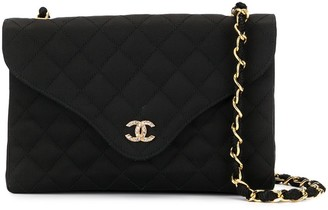 Chanel Pre Owned Flap Chain Shoulder Bag