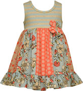 Bonnie Baby Baby Girls' Stripe & Panel Sundress