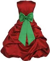 ekidsbridal Wedding Pageant Christmas Flower Girl Dress gown Tiebow0t