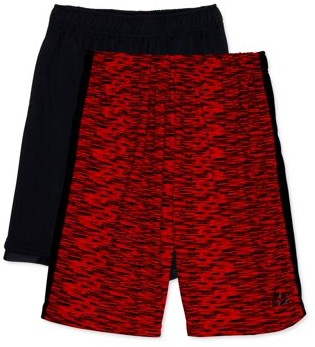 RBX Boys Jersey and Mesh Athletic Shorts, 2-Pack, Sizes 4-18