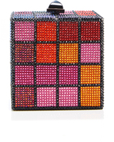 Judith Leiber Couture Colorful Cube Clutch