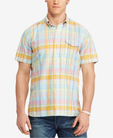 Polo Ralph Lauren Men's Big & Tall Classic-Fit Plaid Poplin Shirt