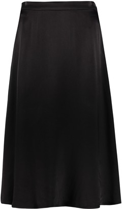 MICHAEL Michael Kors Envers Satin Crepe Skirt