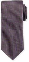Brioni Box Pattern Silk Tie