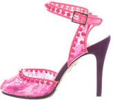 Charlotte Olympia Studded Soho Sandals