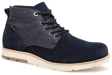 Levi's Men's Jax Light Chukka Lace-up Ankle Boots in Blue
