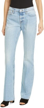 Frame Le Mini Bootcut High Waist Jeans