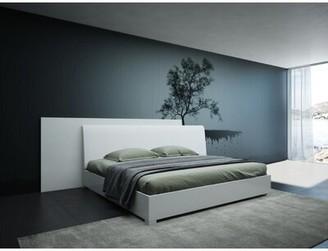 Orren Ellis Lucus Italian Modern Upholstered Platform Bed Size: Queen