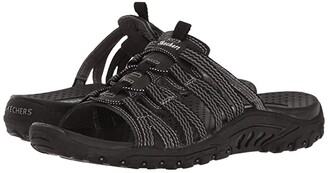 Skechers Reggae - Repetition (Black) Women's Shoes