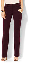 New York & Co. 7th Avenue Design Studio - Signature - Universal Fit - Straight-Leg Pant - SuperStretch - Petite