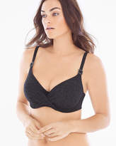 Soma Intimates Montreal Full D-F Cup Swim Bikini Top Black