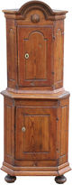 One Kings Lane Vintage 18th-C. French Corner Cupboard