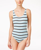 Free People Ride Or Die Striped Bodysuit