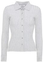 Altuzarra Campbell cotton-blend shirt