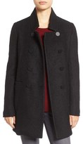 Tahari Women's 'Harper' Double-Breasted Boucle Coat