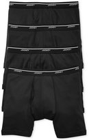 Jockey Men's Tagless Low-Rise Boxer Briefs 4-Pack