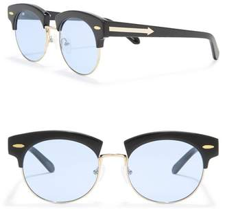 Karen Walker 51mm The Constable Clubmaster Sunglasses