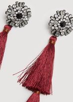MANGO Tassels pendant earrings