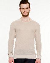 Le Château Textured Crew Neck Sweater