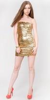 eDressMe Strapless Sequin Mini Dresses