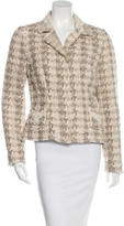 Dolce & Gabbana Tweed Lace-Trimmed Blazer w/ Tags