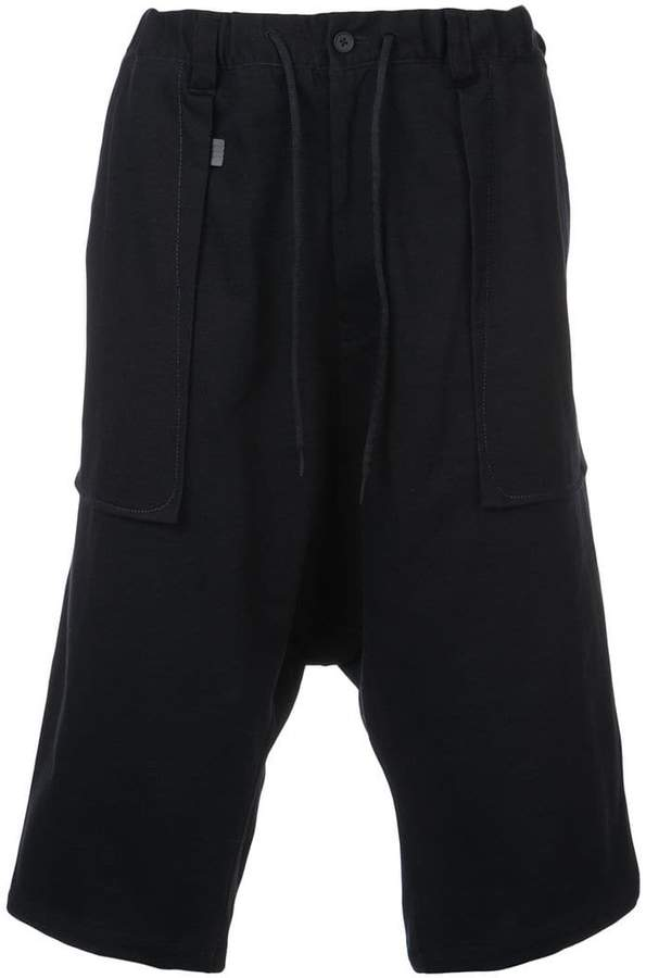 Y-3 loose fitting bermudas