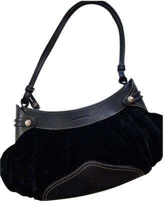 Lancel Black Velvet Handbags