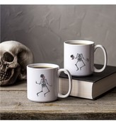 Cathy's Concepts 'Skeletons' Ceramic Coffee Mugs