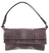 Jil Sander Embossed Leather Handle Bag