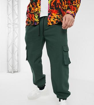 Collusion COLLUSION combat trousers in khaki-Green