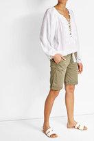 Woolrich Stretch Cotton Bermuda Shorts