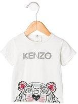 Kenzo Girls' Logo Printed Top