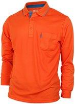 Bcpolo Men's Polo Shirt Polo Shirt Casual Polo Shirt Long Sleeves M