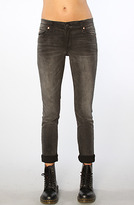 Cheap Monday The Tight Skinny Jean in Wrecking Black