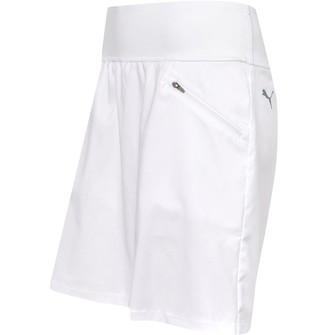 Puma Womens PWRshape Drycell 18 Inch Golf Skirt Bright White