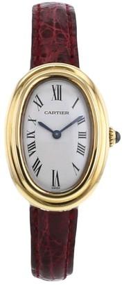 Cartier 1990 pre-owned Baignoire 22mm
