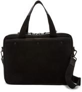 AllSaints Minato Cow Leather Trim Work Bag