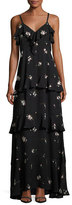 A.L.C. Zaydena Sleeveless Maxi Dress, Black